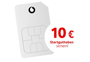 Vodafone Freikarte: Kostenlose CallYa Prepaid SIM-Karte