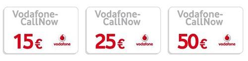 Vodafone CallNow Guthaben