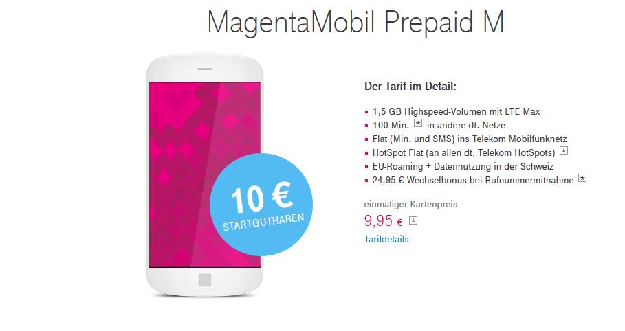 magentamobil prepaid m