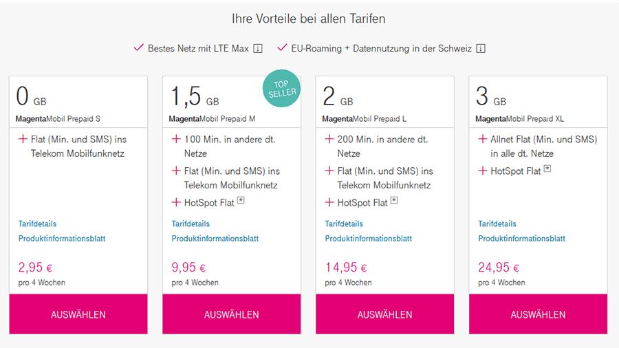 Telekom Prepaid Rufnummernmitnahme