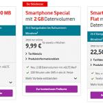 Vodafone CallYa Tarif wechseln