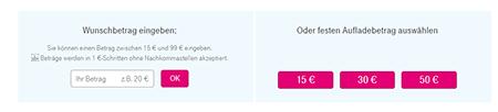 Telekom Prepaid Aufladung