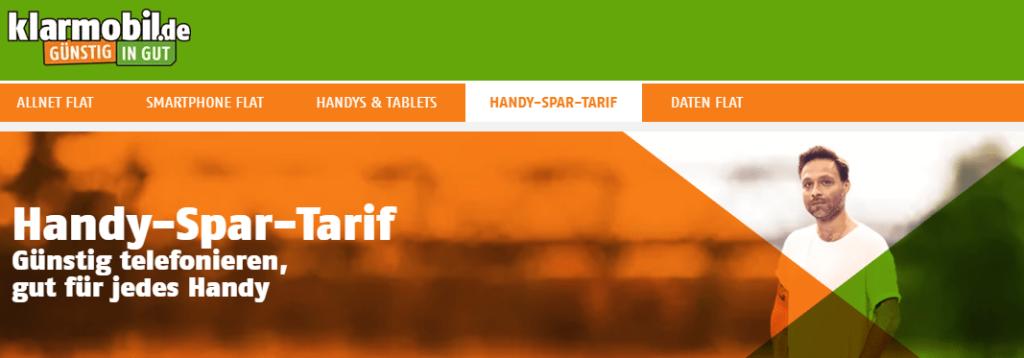 klarmobil Prepaid Tarife in der Übersicht