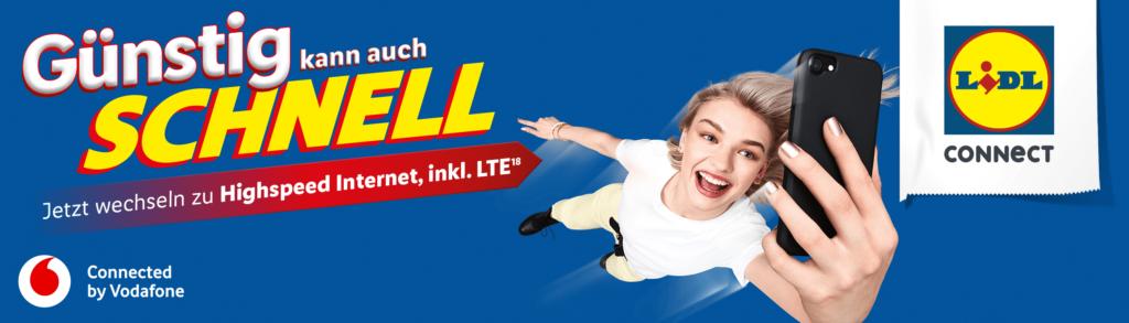 LIDL Connect Prepaid Tarife in der Übersicht