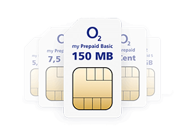 o2 my Prepaid Basic: 150 MB LTE + 9 Cent - 1,99 € / 4 Wochen