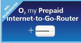 o2 my Prepaid Internet-to-Go-Router