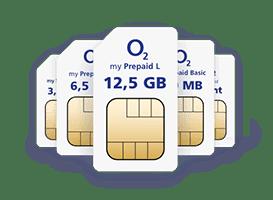 o2 my Prepaid L: 12,5 GB LTE + Allnet Flat - 19,99 € / 4 Wochen
