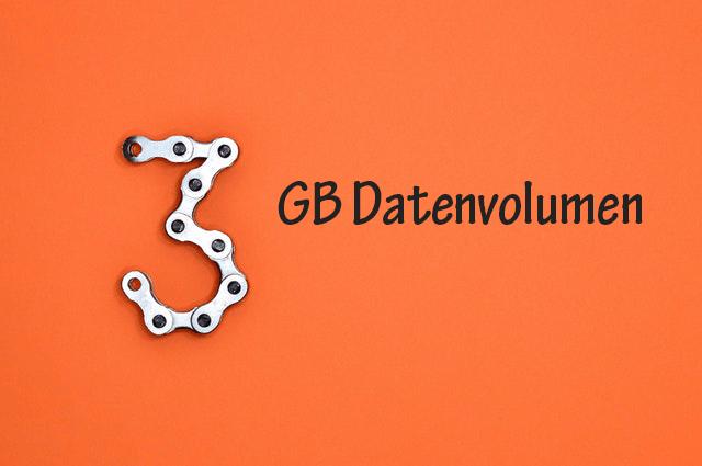 Prepaid Karten Tarife mit 3 GB Datenvolumen im Check